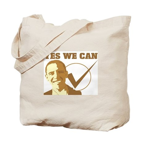 Yes We Can (vote Obama) Tote Bag