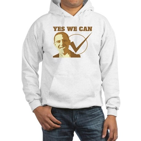 Yes We Can (vote Obama) Hooded Sweatshirt