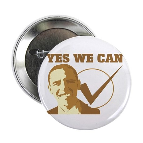 "Yes We Can (vote Obama) 2.25"" Button"