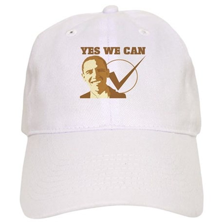 Yes We Can (vote Obama) Cap