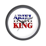 ARIEL for king Wall Clock