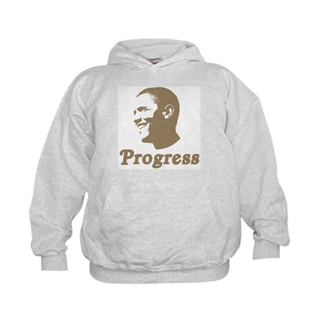 Obama for Progress Kids Hoodie