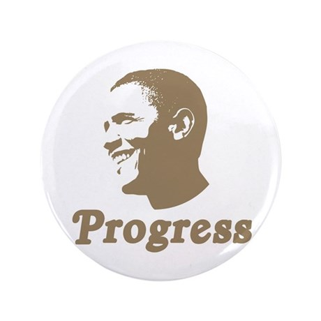 "Obama for Progress 3.5"" Button"