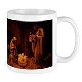 Nativity / Christ In Manger Small Mug