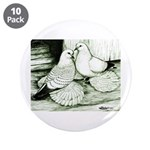 """Ice Pigeons 3.5"""" Button (10 pack)"""
