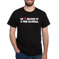 Belongs To A Fire Marshal T-Shirt