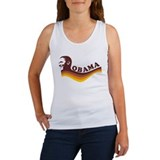 Barack Obama (brown retro) Women's Tank Top