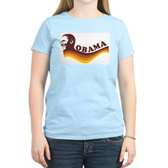 Barack Obama (brown retro) Women's Light T-Shirt
