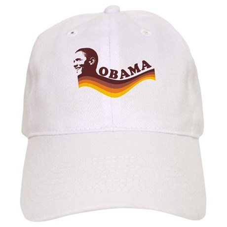 Barack Obama (brown retro) Cap