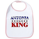 ANTONIA for king Bib