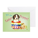 Easter Beagle Greeting Card