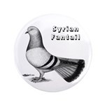 """Syrian Fantail Pigeon 3.5"""" Button (100 pack)"""