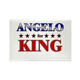 ANGELO for king Rectangle Magnet