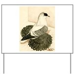 Swallow Pigeon Yard Sign
