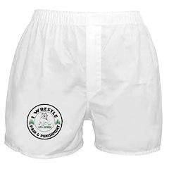 I Wrestle Boxer Shorts