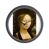 Leonardo da Vinci Art Prints Wall Clock