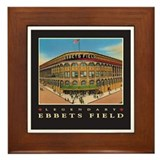 Ebbets Field Framed Tile