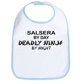 Salsera Deadly Ninja by Night Bib