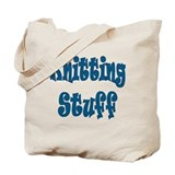 Knitting Stuff Tote Bag
