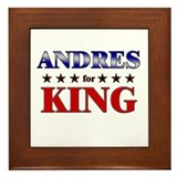 ANDRES for king Framed Tile