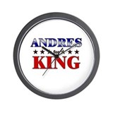 ANDRES for king Wall Clock