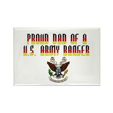 Proud Ranger Dad... Rectangle Magnet