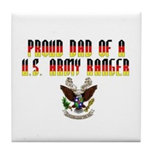 Proud Ranger Dad... Tile Coaster