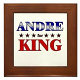 ANDRE for king Framed Tile