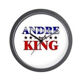 ANDRE for king Wall Clock