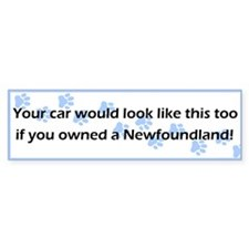 Your Car Newfoundland Bumper Bumper Sticker