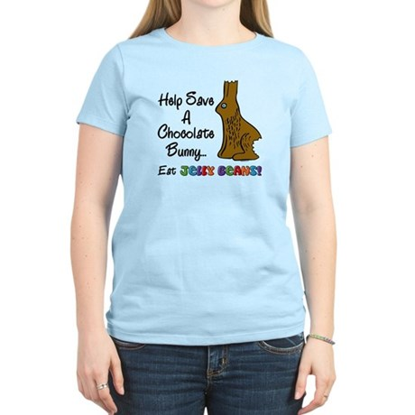 Save A Bunny Women's Light T-Shirt