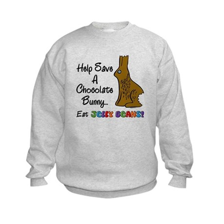 Save A Bunny Kids Sweatshirt