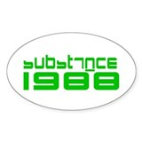 substance Oval Decal