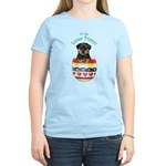 Easter Rottweiler Women's Light T-Shirt