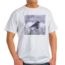bluebird on a branch T-Shirt