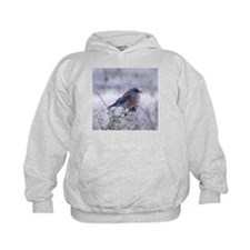 bluebird on a branch Hoodie