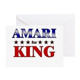 AMARI for king Greeting Card