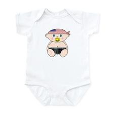 McKenzie Modern with American Bandana Infant Bodys