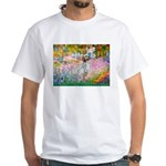Garden / English Setter White T-Shirt