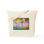 Garden / English Setter Tote Bag