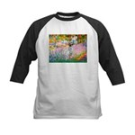 Garden / English Setter Kids Baseball Jersey