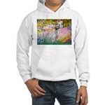 Garden / English Setter Hooded Sweatshirt