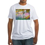 Garden / English Setter Fitted T-Shirt