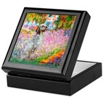 Garden / English Setter Keepsake Box