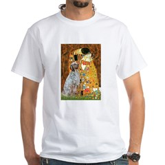 The Kiss / English Setter White T-Shirt