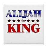 ALIJAH for king Tile Coaster