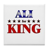 ALI for king Tile Coaster