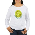 Daffodils, Oh Happy Spring Women's Long Sleeve T-S