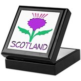...Scotland Thistle... Keepsake Box