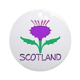 ...Scotland Thistle... Ornament (Round)